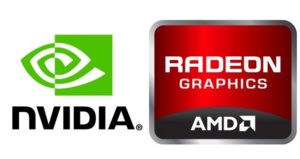 Logo de NVIDIA y AMD